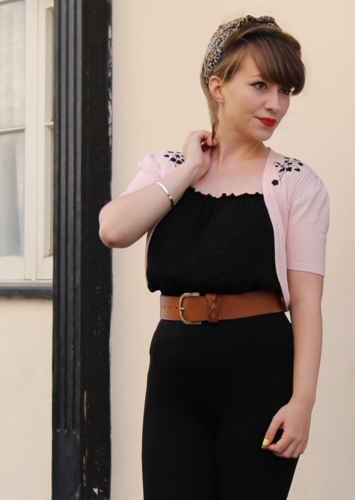 Pink lady inspired outfit