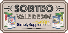 Sorteo Vale Simply Supplements