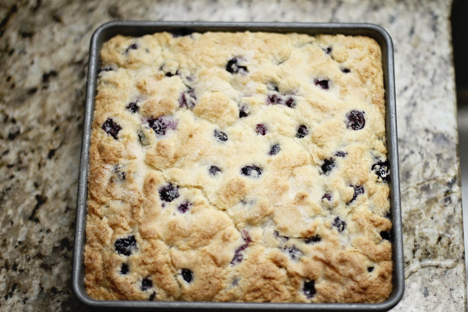 Suppers at Sunset: Buttermilk Blueberry Breakfast Cake