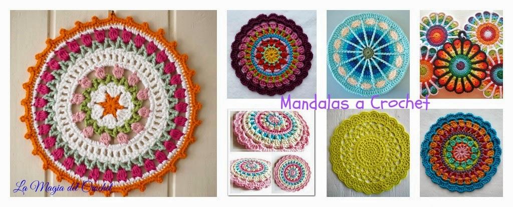 La Magia del Crochet: MANDALAS A CROCHET