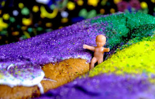 All Hail the Mardi Gras King Cake!
