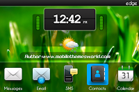 blackberry 9000 themes1 Big Clock Theme BlackBerry