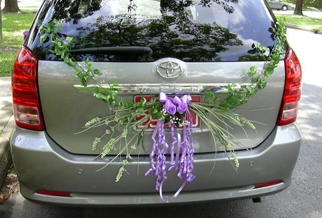Flower Wedding Car Decorations : Get unique bridal wedding car decoration ideas browse through the