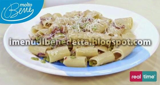 Pasta con Fave Guanciale e Pecorino di Benedetta Parodi
