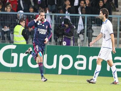 AJ Auxerre 0 - 3 Olympique Lyon (1)