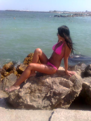 Rumanas en la playa