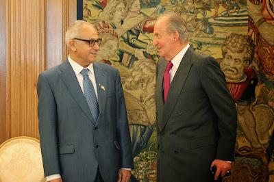 Presidente de sefardíes expresa a rey de España orgullo de poder ser español