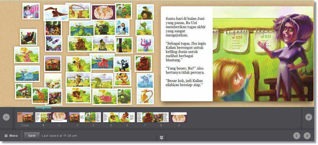 Storybird, Cara Menyenangkan Membuat Cerpen Dengan Ilustrasi Indah