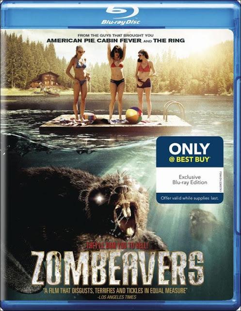Zombeavers Blu-ray