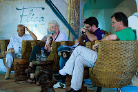 Foto: Peterson Azevedo - Nei Lopes,Rodrigo Constantino e Liv Sovik