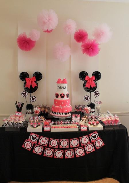 Kalliopelp decoraci n de fiestas infantiles de minnie mouse for Decoracion de minnie mouse