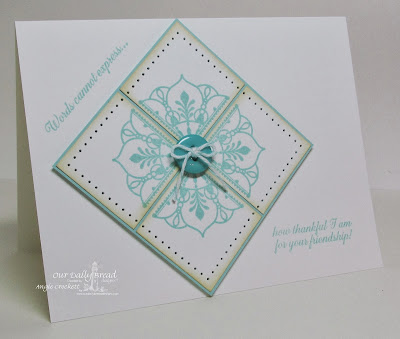 ODBD No Words and Ornate Borders and Flowers, Card Designer Angie Crockett
