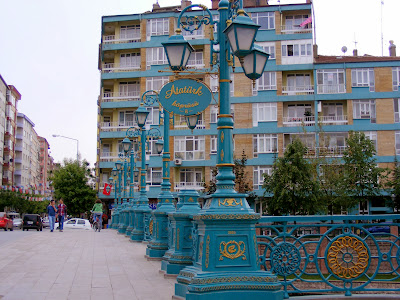 River Bridge In Eskişehir