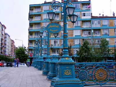 River Bridge In Eskişehir