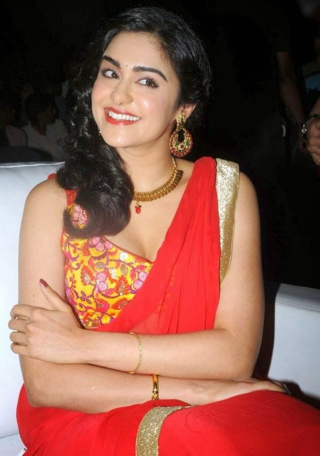 Adah Sharma at Son of Satyamurthy Audio