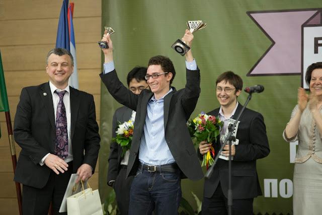 Grand Prix Khanty-Mansiysk. Caruana, Nakamura y Jakovenko vencedores.