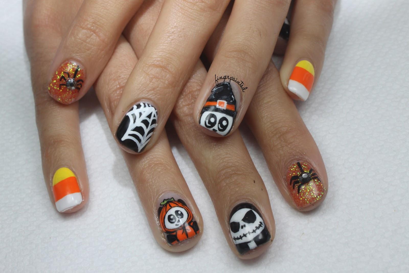 Fantastic Nail Design Halloween Gallery - Nail Art Ideas - morihati.com