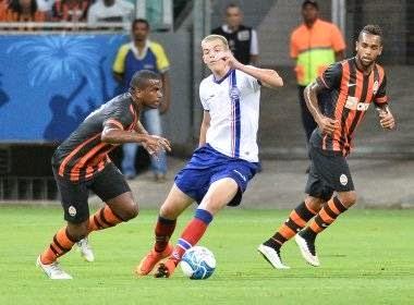 Bahia vence Shakhtar por 3 a 2 em amistoso internacional