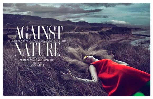 W Magazine March 2011 Against Nature Editorial | Ses Rêveries