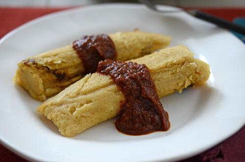 bbq brisket tamales, beef tamales