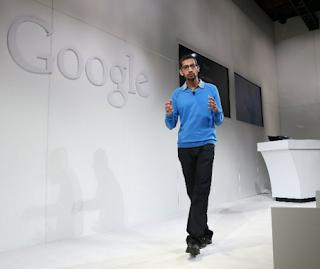 Mengenal Sosok CEO Google Sundar Pichai