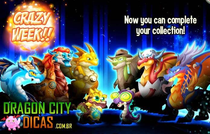Semana Louca no Dragon City - Nova Promoção