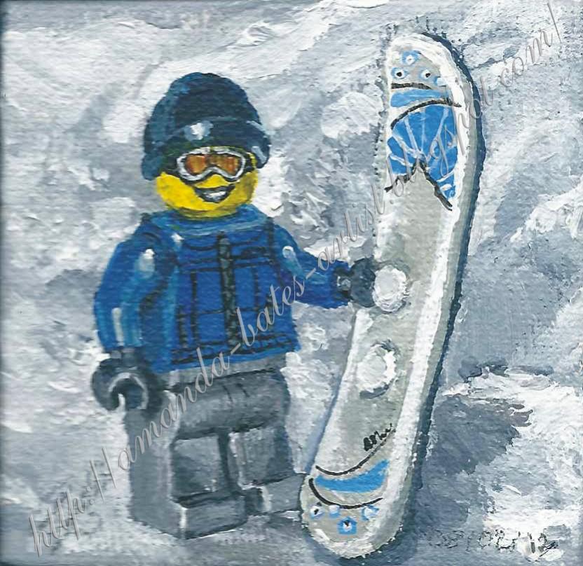 Lego Minifigures Snowboarder Lego Minifigures 39