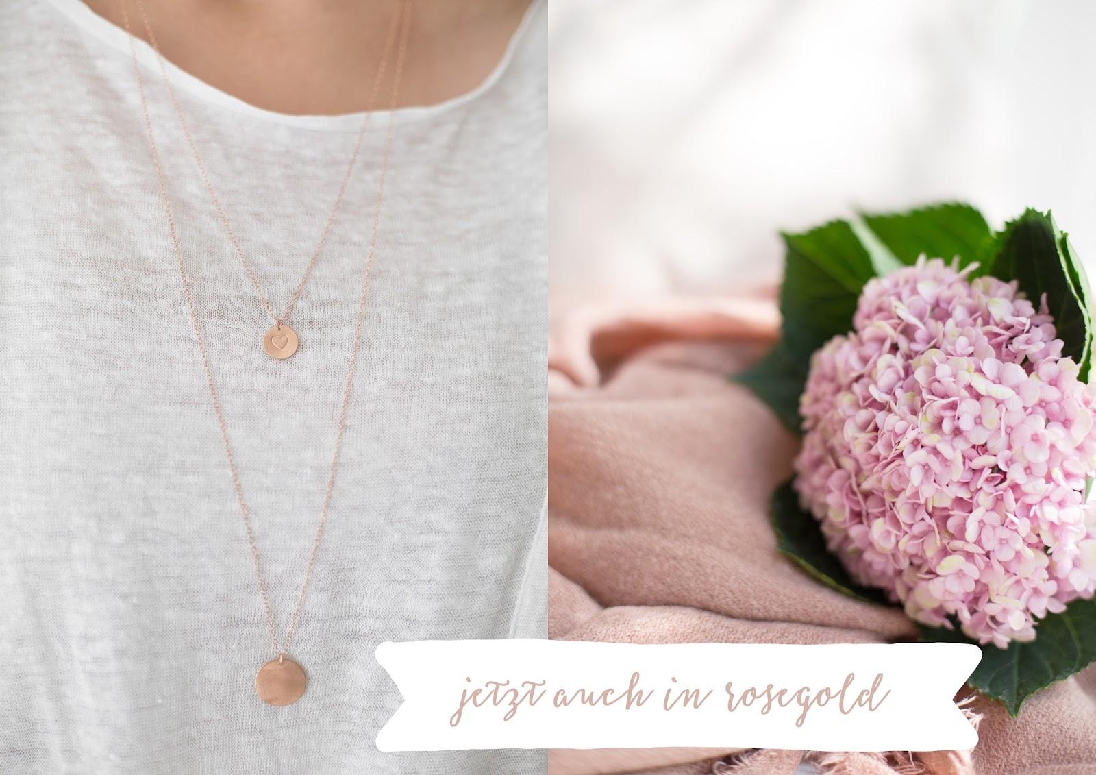 detail lovin Ketten in rosegold