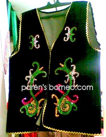 paren nyawi39;s blog: Dayak Borneo39;s Vest amp; Ceremonial JacketKelam