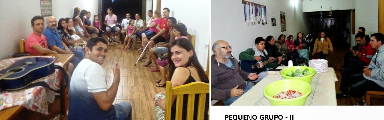 Reunião PEQUENO GRUPO - II