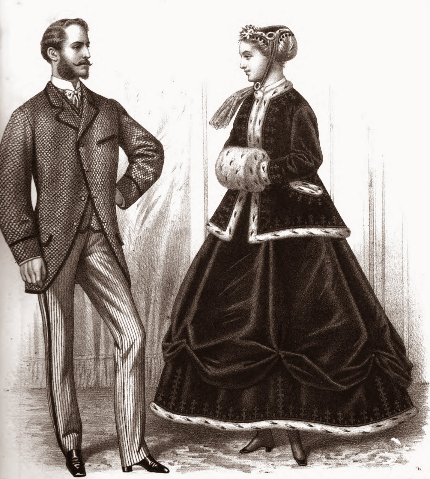 Historical: 19th Century Historical Tidbits: 1867 Historical Fashions