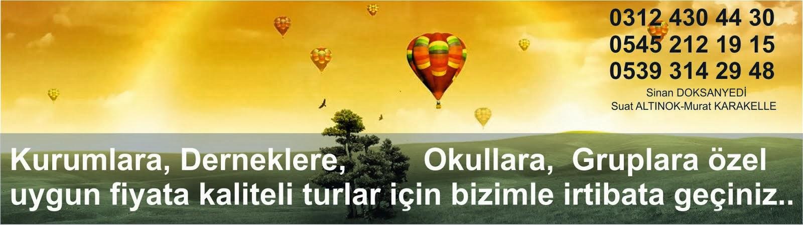 Ramazan bayramı Turları, Seker Bayrami gezileri,  Ankara çıkışlı bayram turları