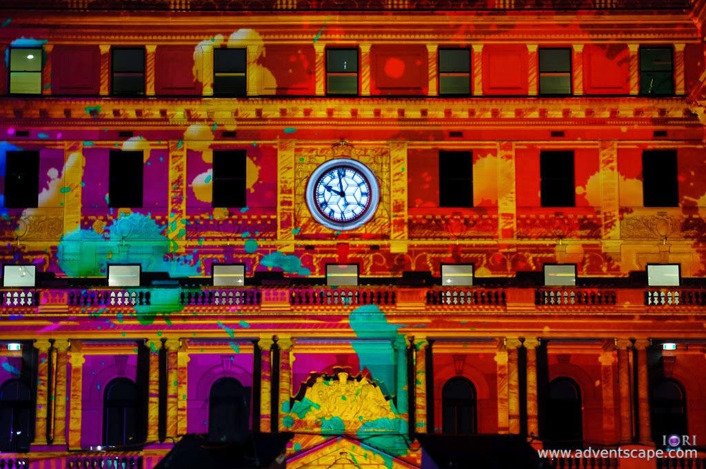 Philip Avellana, Australian Landscape Photographer, Vivid Sydney, Event, CBD, NSW, New South Wales, Australia, lighting, long exposure, Custom House, 2011