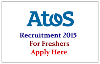 ATOS Hiring freshers for the post of Trainee Engineer