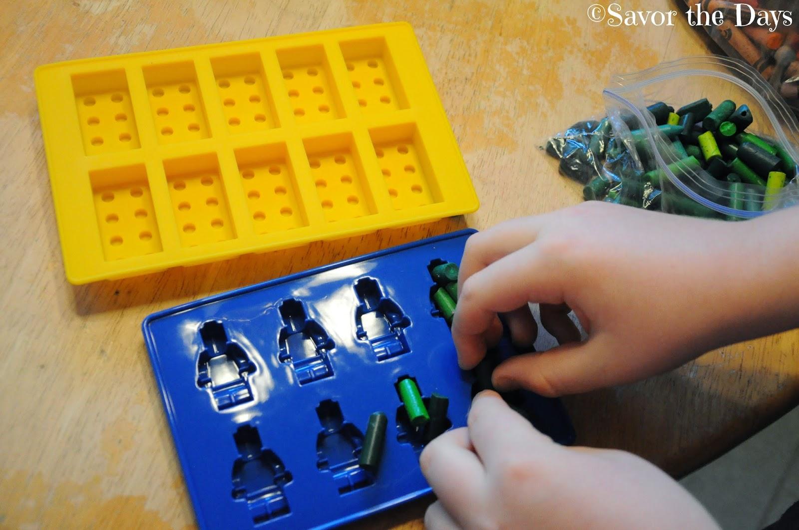 Lego silicone molds