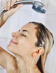 lavar corretamente os cabelos