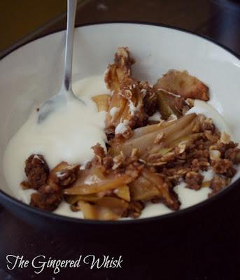 Gluten Free Apple Crisp - The Gingered Whisk