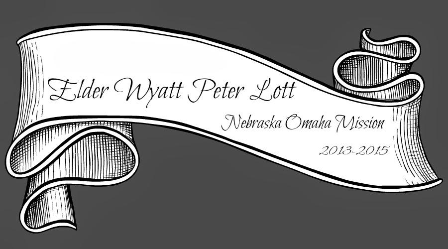 Elder Wyatt Lott's Mission Blog
