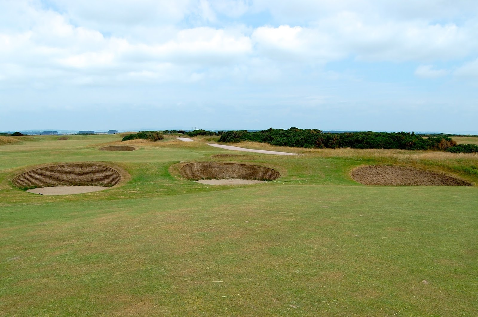 Bunkers on the Old Course