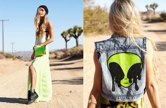Nasty Gal Coachella 2013 Lookbook featuring Pia Mia Perez