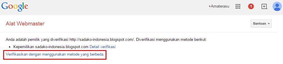 Cara mendaftarkan blog/ website di Google Webmaster 4