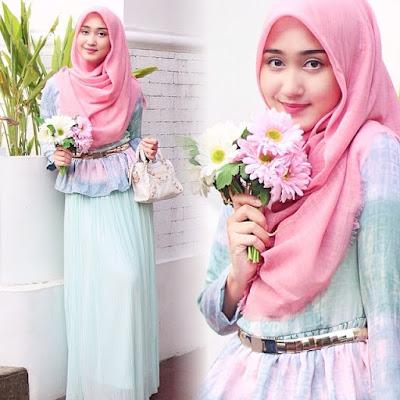 Baju Cantik Hijab Kreasi Dian Pelangi Terbaru 2015