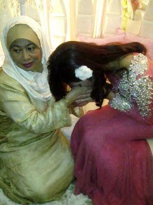 Majlis Pertunangan Zahiril Adzim Dan Shera Ayob (Gambar)