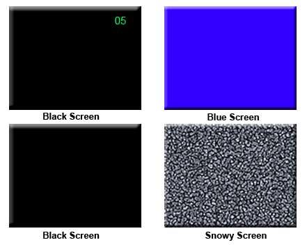 black screen windows 7
