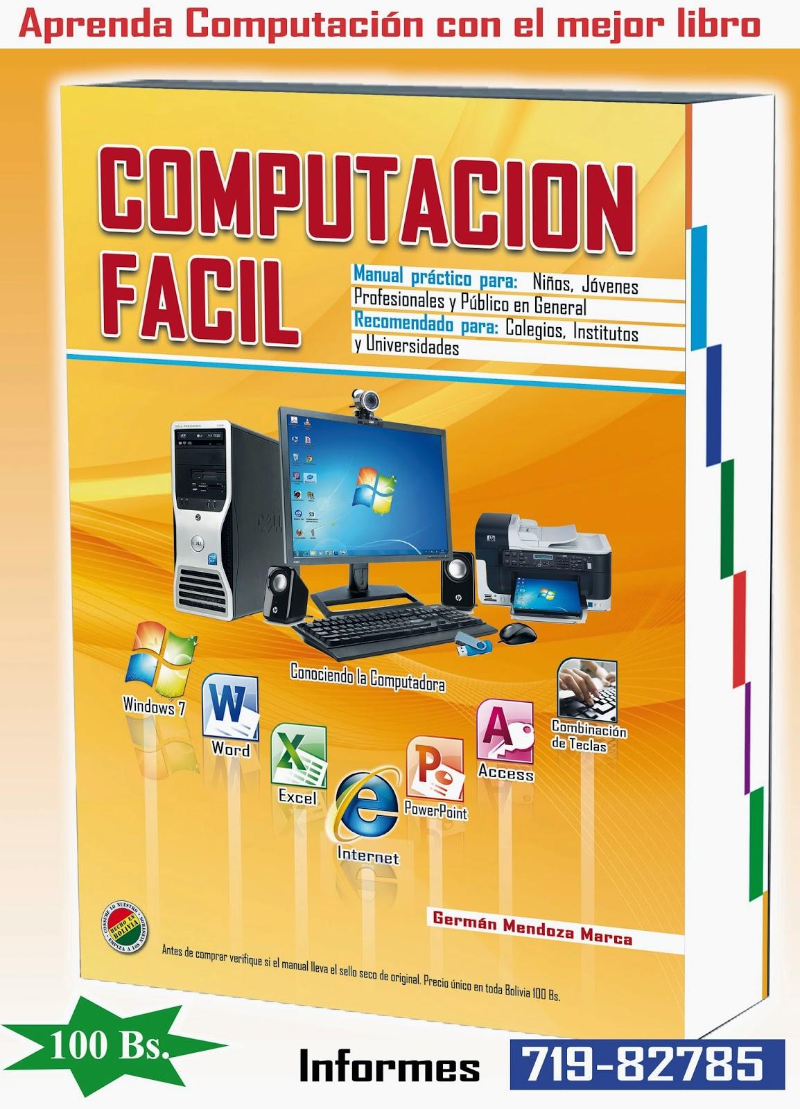 Computaci n facil portada del libro computacion facil 2014 Libros de ceramica pdf