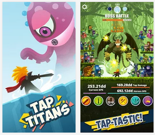 Tap Titans v1.2.1 Apk + Mod for Android