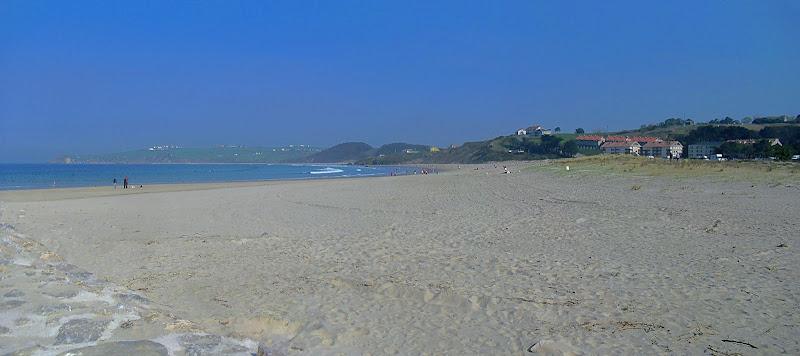 Playa El Rosal de San Vicente de la Barquera
