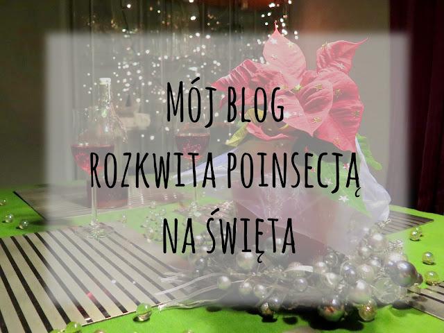 Mój blog rozkwita poinsecją