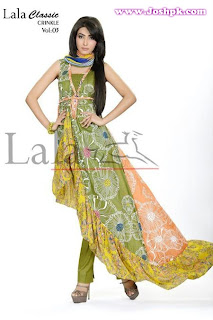 Lala Classic Crinkle Dresses Collection 2013 Vol 3 For Ladies