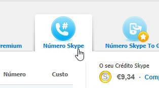 Como obter um número de telefone no Skype